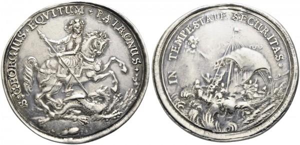 Medaille-Georgstaler-Kremnitz-Römisch-Deutsches-Reich-VIA10913