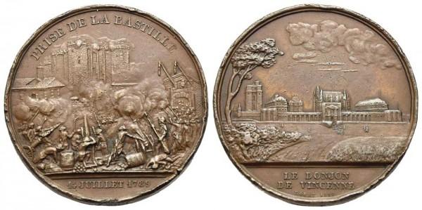 Medaille-Frankreich-Bastille-Rogat-VIA11257