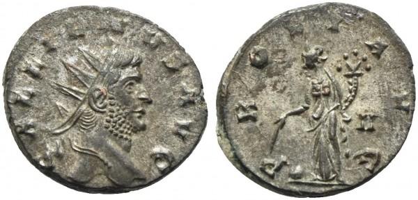 Römische-Münze-Antike-Gallienus-Providentia-VIA10922