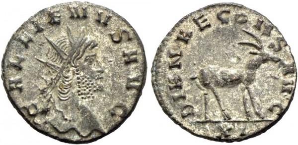 Antike-Münze-Rom-Gallienus-Antoninian-RIC-181-VIA10996