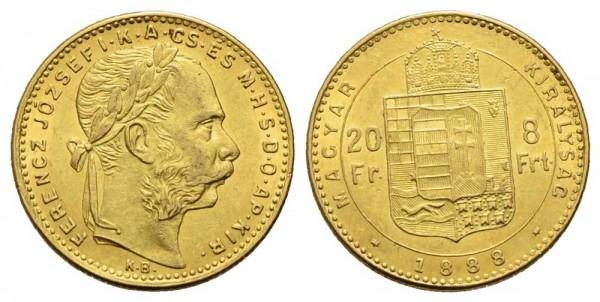 Goldmünze-Österreich-Franz-Joseph-20Fr-8Frt-VIA11007