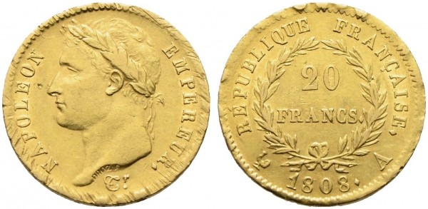 Goldmünze-Frankreich-Napoleon-VIA10970