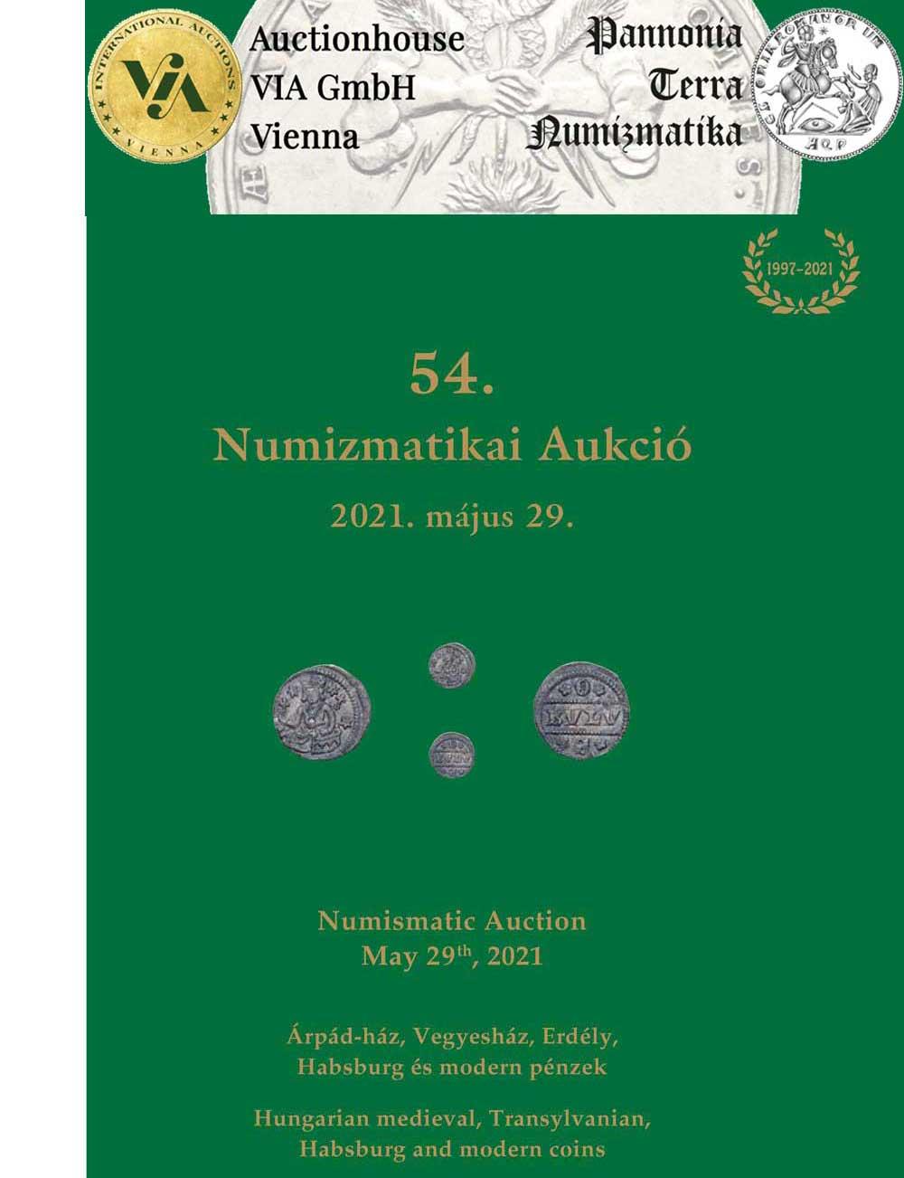 Auction VIA & Pannonia Terra Katalog