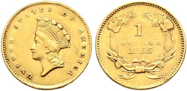 Goldmünze-USA-Dollar-VIA11086