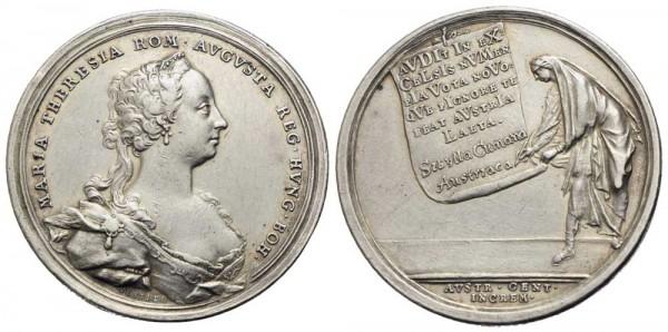 Medaille-Römisch-Deutsches-Reich-RDR-Maria-Theresia-VIA10972