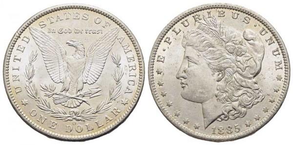 Weltmünze-USA-Dollar-1885-VIA10596