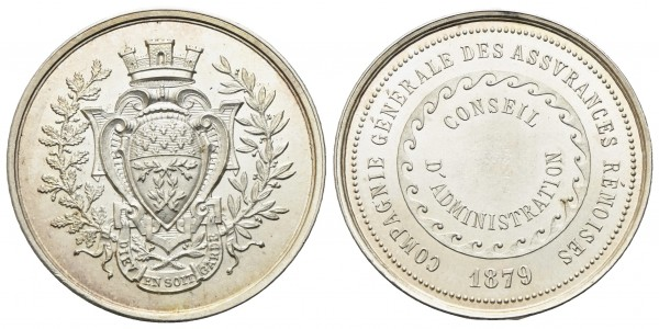 Frankreich - Reims - Medaille