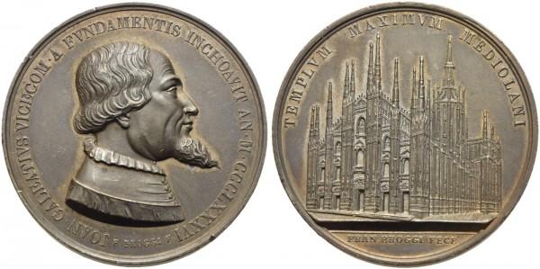 Medaille-Italien-Mailänder-Dom-VIA10851