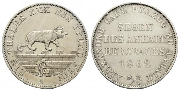 Deutschland - Anhalt Bernburg - Alexander Karl 1834-1863