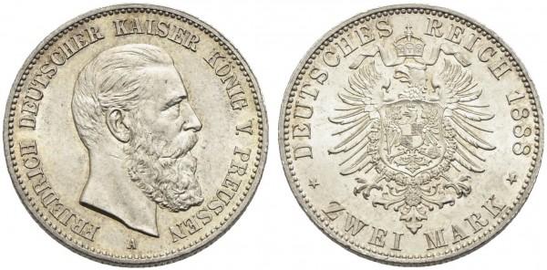 Münze-Deutschland-Preussen-Friedrich-III-VIA10840