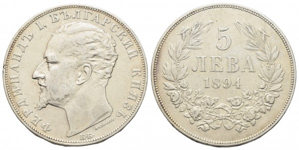 Bulgarien - Ferdinand 1887-1918