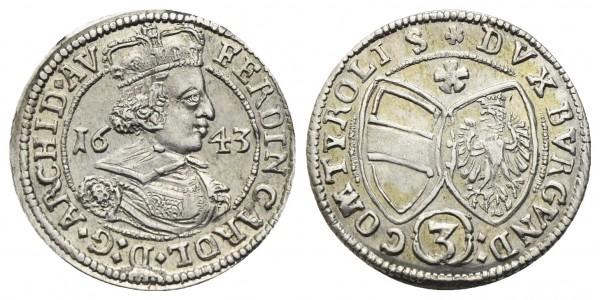 Römisch Deutsches Reich - Erzherzog Ferdinand Karl 1632-1662