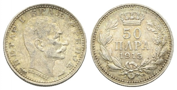 Serbien - Peter I. 1903-1921