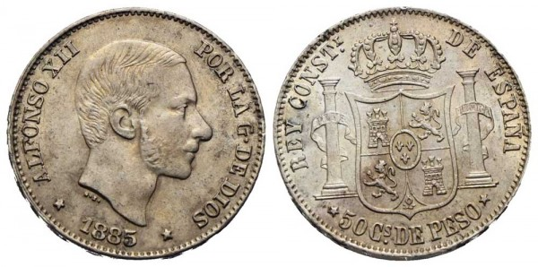 Münze-Philippinen-50-Centimos-de-Peso-VIA10963