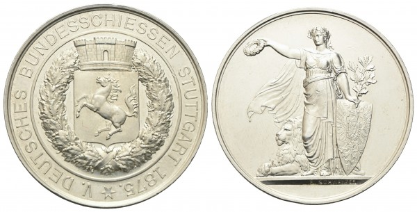Deutschland - Stuttgart - Medaille