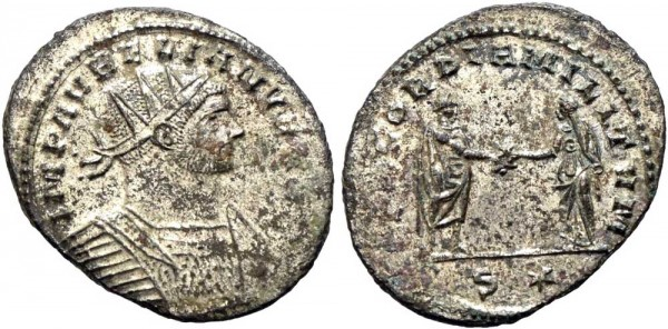 Antike-Münze-Rom-Aurelianus-Antoninian-RIC216-VIA11000