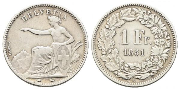 Schweiz - Eidgenossenschaft ab 1848