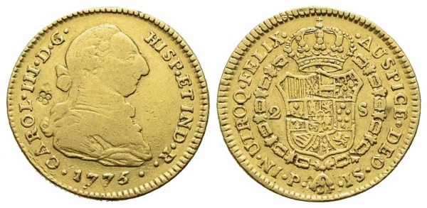 Goldmünze-Kolumbien-Karl-III-VIA10781