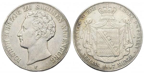 Deutschland - Sachsen - Altenburg - Josef 1834-1848