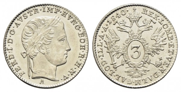 Kaiserreich Österreich - Ferdinand I. 1835-1848