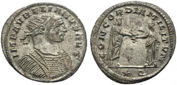 Römische-Münze-Antike-Aurelianus-Concordia-VIA10928