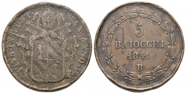 Italien - Vatikan – Pius IX. 1846-1870