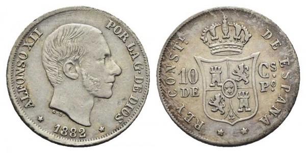 Münze-Philippinen-10-Centimos-de-Peso-VIA10954