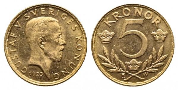 Schweden - Gustav V. 1907-1950