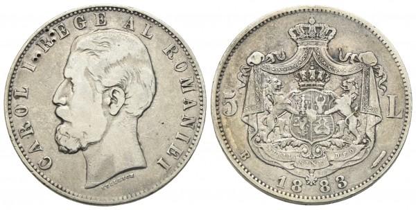 Rumänien - Karl I. 1866-1914