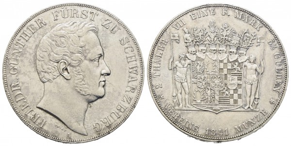 Deutschland - Schwarzburg - Rudolstadt - Friedrich Günther 1807-1867