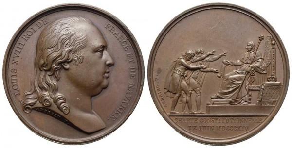 Medaille-Frankreich-Ludwig-XVIII-VIA10474