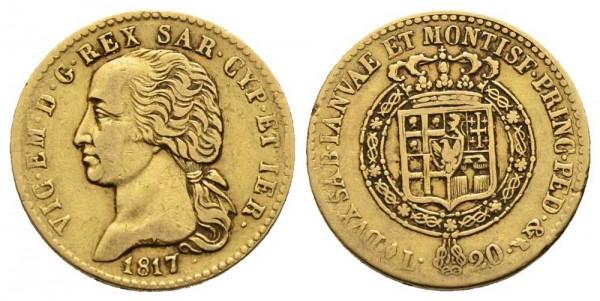 Goldmünze-Sardinien-Vittorio-Emanuele-I-VIA10647
