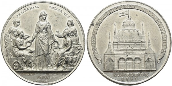 Dänemark - Christian IX. 1863-1906 - Medaille