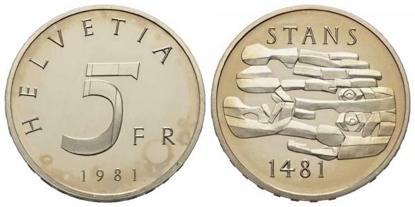 Weltmünze-Schweiz-Polierte Platte-VIA10624