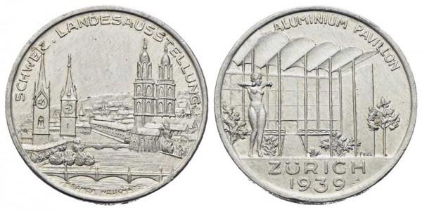 Medaille-Schweiz-Zürich-Aluminium-Pavillon-VIA11318