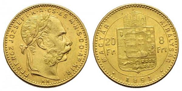 Goldmünze-Österreich-Franz-Joseph-20Fr-8Frt-VIA11023