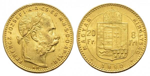 Goldmünze-Österreich-Franz-Joseph-20Fr-8Frt-VIA10678