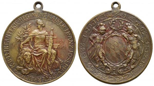 Österreich - Bayern - Franz Joseph - Medaille