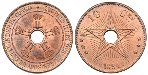 Belgisch-Kongo - Leopold II. 1876/1885-1908
