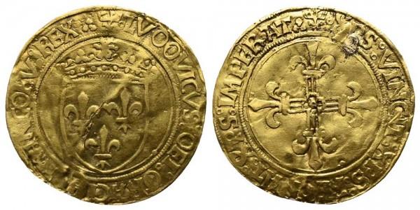 Goldmünze-Frankreich-Ludwig-XII-VIA10431