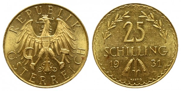 Österreich - 1. Republik 1918-1938