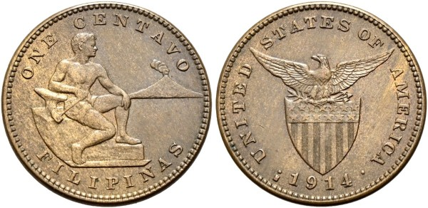 Münze-Philippinen-USA-Centavo-VIA11104