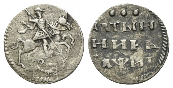 Russland - Peter I. 1682/1721-1725