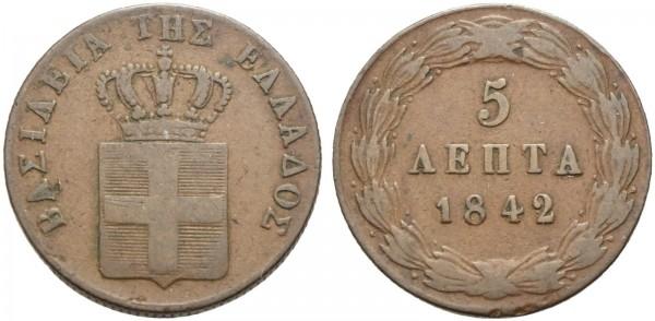 Münze-Griechenland-Otto-I-VIA10889
