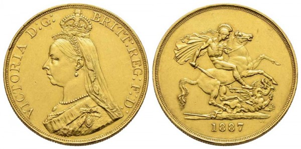 Goldmünze-Großbritannien-UK-Victoria-VIA10965
