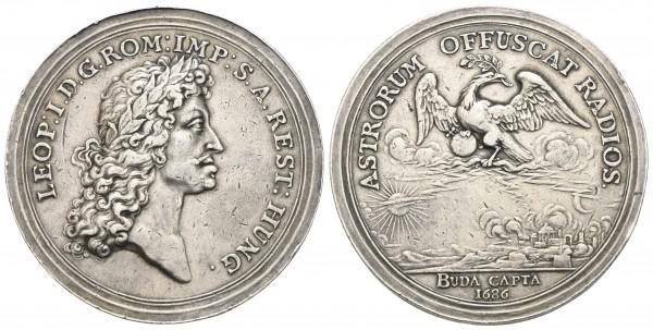 Römisch Deutsches Reich - Leopold I. 1657-1705 - Medaille