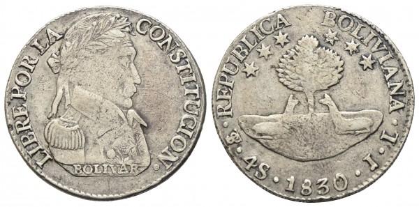 Bolivien - Republik ab 1825