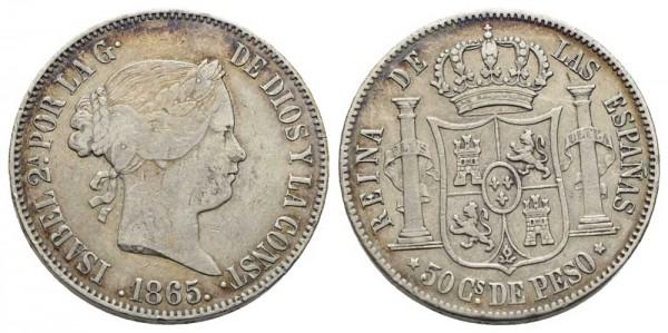 Münze-Philippinen-50-Centimos-de-Peso-VIA10961