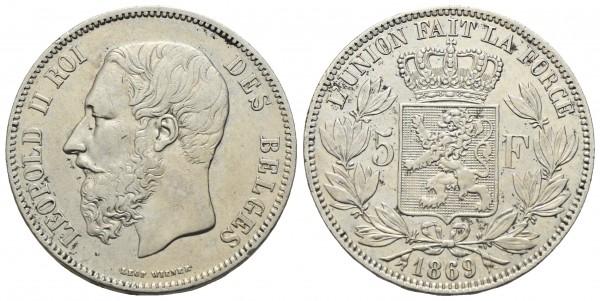Belgien - Leopold II. 1865-1909