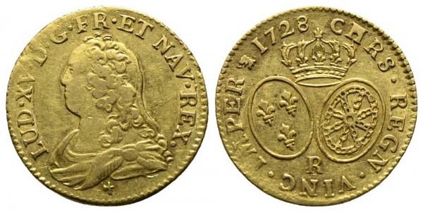 Goldmünze-Frankreich-Ludwig-XV-VIA10427